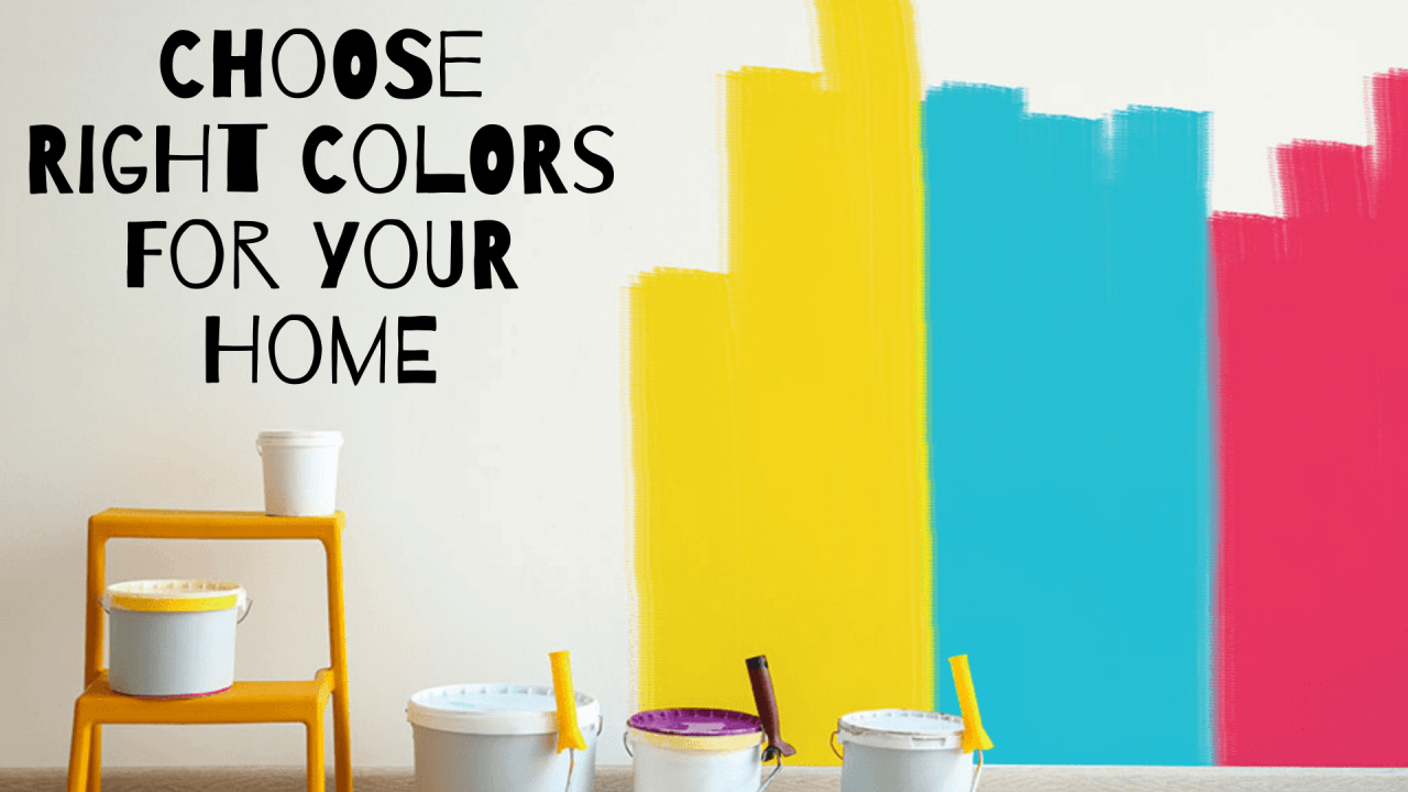 Choosing Colors: How to choose colours for Home!