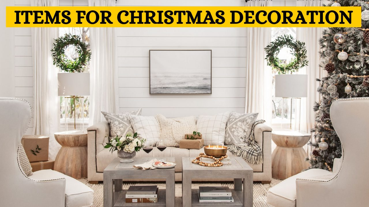 Items you can add to your Christmas home decoration