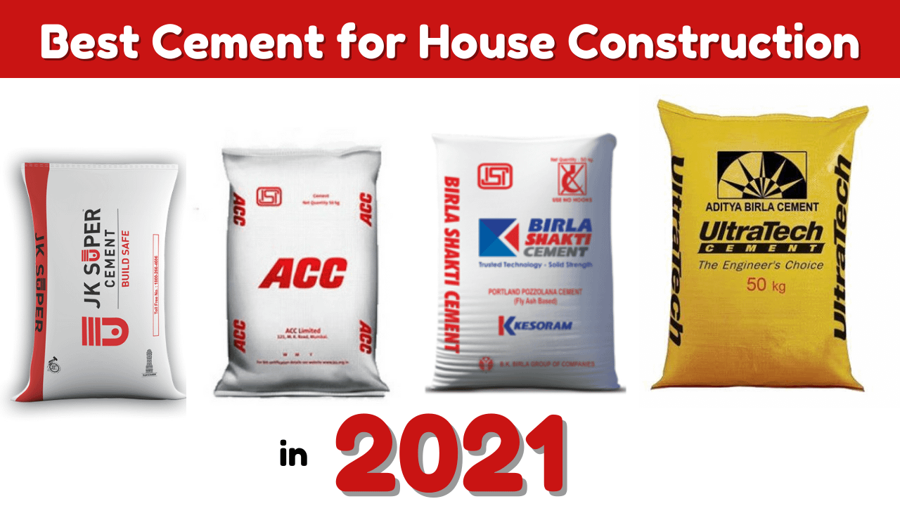Best Cement for house construction in 2021